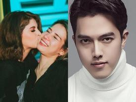Đời sống hot teen 24h: Andrea Aybar âu yếm ôn hôn đàn chị, hot boy Minh Châu than thở tăng cân