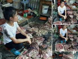 Hải Phòng: Cả chục cân thịt lợn bị tạt dầu luyn vì bán giá rẻ khiến dư luận phẫn nộ