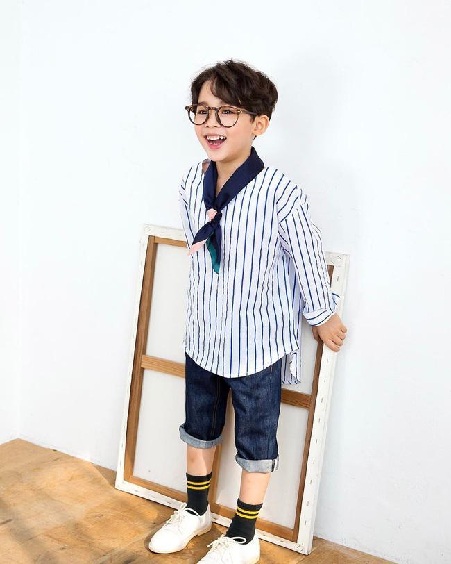Chàng mẫu 5 tuổi mang hai dòng máu Hàn - Ả Rập khiến cư dân mạng ngây ngất vì quá dễ thương - Ảnh 3.