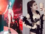 Quẩy nhiệt trên bar, hot girl chuyển giới Trâm Anh lộ vòng 1 'nóng' mắt