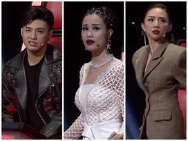 Biểu cảm hoang mang của 3 HLV khi cô gái Hàn Quốc hát hit 'Lạc trôi' của Sơn Tùng MTP