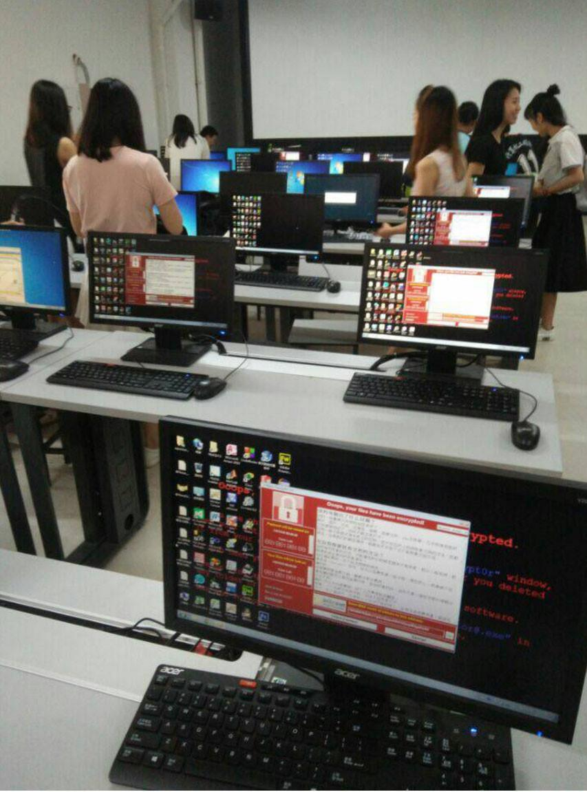 WannaCry tan cong Trung Quoc khien ATM, cay xang te liet hinh anh 3