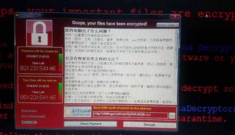 WannaCry tan cong Trung Quoc khien ATM, cay xang te liet hinh anh 2