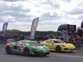 Xem loạt siêu xe và xe thể thao đua drag