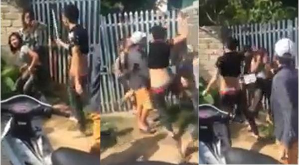 Hà Nội: Sốc trước cảnh 6 nam thanh niên dùng tuýp sắt phang liên tiếp vào người 2 thiếu nữ - Ảnh 2.