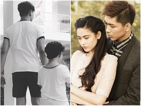 Facebook 24h: Tim nắm chặt tay con trai giữa tin đồn ly hôn Trương Quỳnh Anh