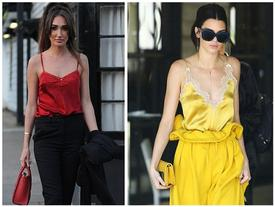 Sao Hollywood chuộng áo hai dây trong ngày hè nắng nóng