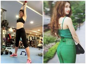 Cách giảm mỡ bụng không cần ăn kiêng sau 2 tháng của hot girl 9x