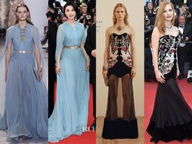 Bóc mác loạt váy áo của dàn đại mỹ nhân trong ngày đầu thảm đỏ Cannes