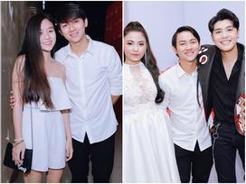 Hoài Lâm đưa bạn gái tới buổi ghi hình chung kết 1 'Giọng hát Việt'