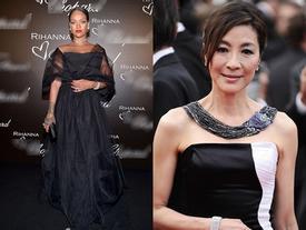 Rihanna mở màn thảm đỏ Cannes ngày thứ hai đầy ấn tượng