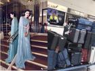 Quyết không để ai vượt mặt, Phạm Băng Băng mang 11 vali váy vóc, 3 stylist tới Cannes