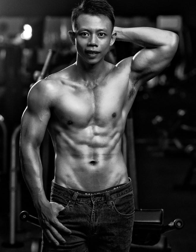 Hanh trinh thay doi voc dang cua chang trai tung nang gan 100 kg hinh anh 3