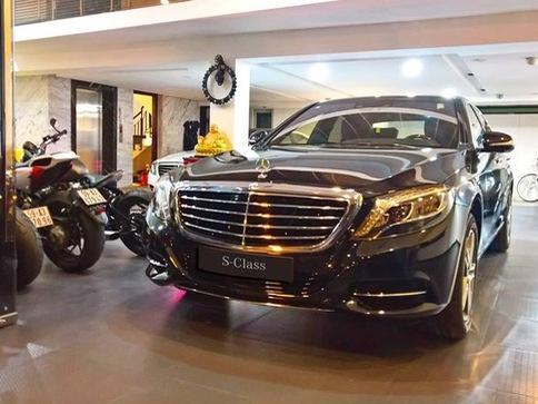 Cường 'Đô La' tậu thêm xe sang Mercedes-Benz S400 trị giá 3,8 tỷ Đồng