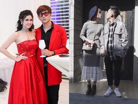 Những cặp tình nhân sao Việt mặc đồ đôi cực tình mà không sến
