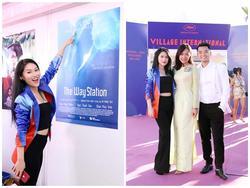 Ngọc Thanh Tâm được coi là 'Đóa hồng mới của hòn ngọc Viễn Đông' tại LHP Cannes 2017