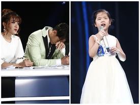 Vietnam Idol Kids: Giám khảo kìm nước mắt khi cô bé khiếm thị hát 'Gặp mẹ trong mơ'