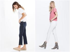 Muôn kiểu quần jeans tôn dáng cho nàng 'ba mét bẻ đôi'