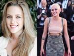 Kristen Stewart lột xác ngoạn mục với đầu đinh nhuộm bạch kim trên thảm đỏ Cannes