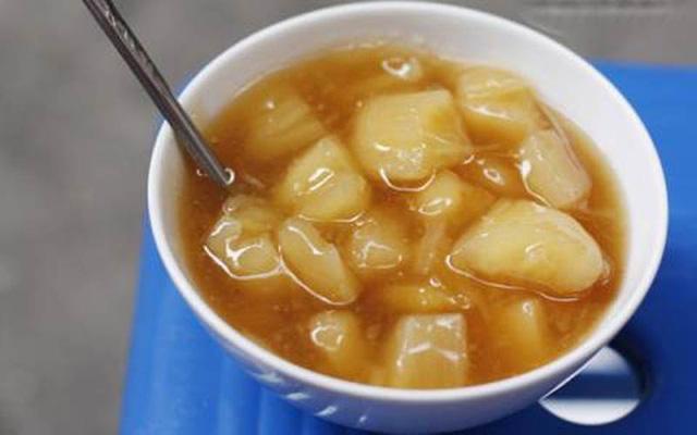 Chè sắn- đặc sản của mùa đông Hà Nội.