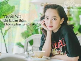 Kaity Nguyễn: 'Tôi và Will chỉ là bạn thân chứ không có quan hệ yêu đương'