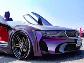 BMW i8 độ phong cách Batman