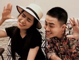 Hòa Minzy và Duy Khánh Zhou Zhou cover 'Có em chờ' theo phong cách 'siêu lầy'