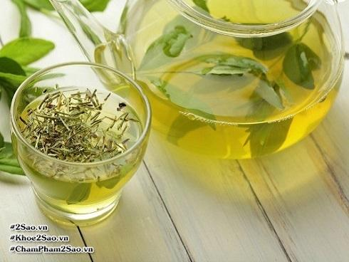 Dùng trà xanh giảm cân, uống bao nhiêu thì bạn gầy?