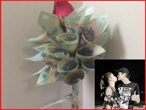 Chuyện của 'soái ca' tặng vàng và hoa tiền mặt cho vợ ngày sinh nhật khiến chị em trầm trồ ngưỡng mộ