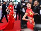 LHP Cannes 2017: Người đẹp Trung Quốc có thể bị đi tù vì một chiếc váy