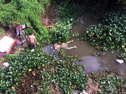 Hưng Yên: Phát hiện thi thể người đàn ông nổi trên mặt nước trong tư thế khỏa thân