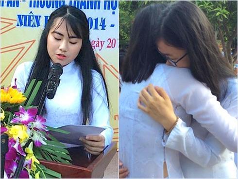 Bức thư tri ân thầy cô của nữ sinh trường Phan Bội Châu khiến nhiều người nghẹn ngào