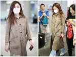 Không thể nhận ra 'đại gia showbiz' Triệu Vy vì phong cách 'xuề xòa' ở sân bay