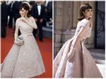 Ngày cuối của LHP Cannes, Lý Nhã Kỳ đẹp đúng chuẩn quý tộc thập niên 1950