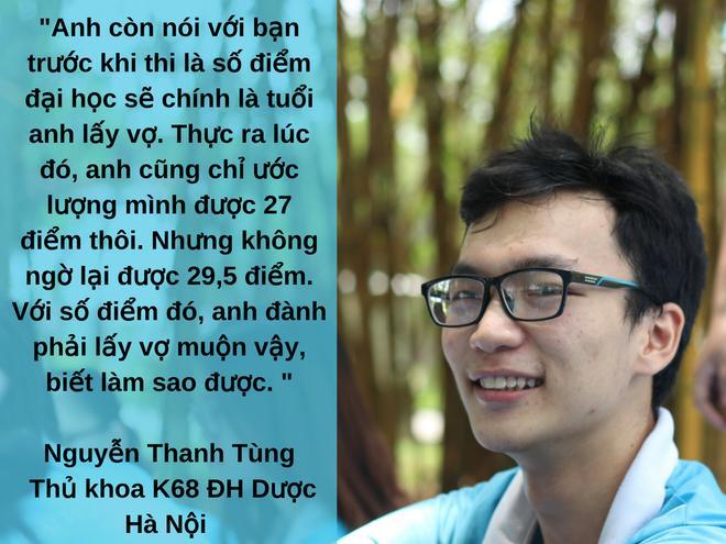Thủ khoa đầu vào 29,5 điểm của ĐH Dược Hà Nội gây sốt với phát ngôn: 'Số điểm đại học là số tuổi anh lấy vợ'