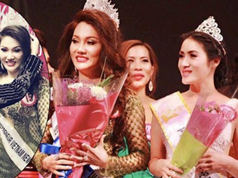 Đẹp rạng ngời Hoa hậu Doanh nhân Việt Nam Thế giới 2017