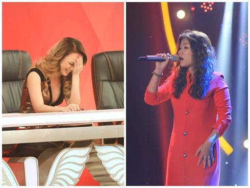 Nữ thí sinh 'bá đạo' hát hit của Văn Mai Hương trên nền nhạc Mỹ Tâm