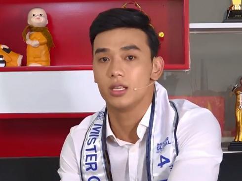 Thuận Nguyễn bị bạn thi té ướt hết áo tại Mister Global 2017