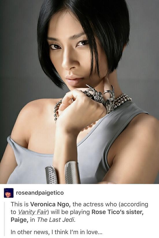 Ngô Thanh Vân diễn viên trong 'Star Wars: The Last Jedi' - 2