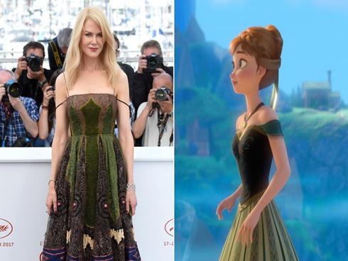 Loạt váy áo đi dự Cannes của dàn mỹ nhân Hollywood lấy cảm hứng từ các nhân vật Disney