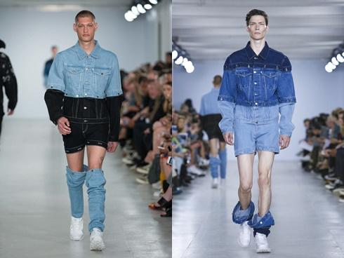 Hết mốt 'giấu quần', giờ có cả mốt 'tụt quần' luôn cho thời trang mùa mới