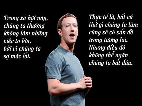 Những câu nói truyền cảm hứng trong bài phát biểu tốt nghiệp của Mark Zuckerberg