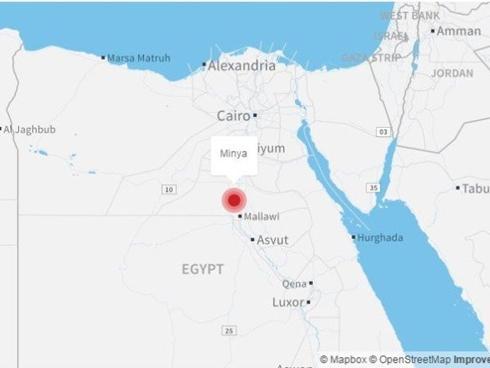 Tấn công xe buýt đẫm máu ở Ai Cập, 26 người chết