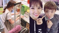Hari Won lại 'tẽn tò' ở sân bay vì thiếu tiền mua bánh