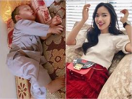 Đời sống hot teen 24h: Ly Kute khoe ảnh con trai ngủ siêu yêu, Châu Bùi ước mơ một lần làm công chúa