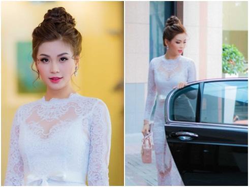 Á hậu Diễm Trang xinh đẹp, được ông xã đưa đón đi sự kiện bằng siêu xe 10 tỷ