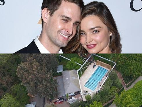 'Giàu nứt vách' nhưng Miranda Kerr và tỷ phú trẻ chỉ làm đám cưới ở sân sau nhà!