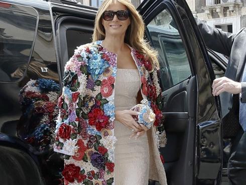 Đệ nhất phu nhân Mỹ mạnh tay sắm áo khoác có giá xấp xỉ cả một căn nhà