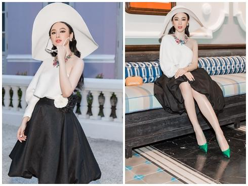 Angela Phương Trinh đi muộn hơn 30 phút trong show của NTK Đỗ Mạnh Cường