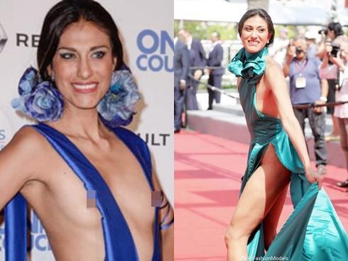 Mỹ nhân người Mexico bán khỏa thân gây sốc trên thảm đỏ Cannes